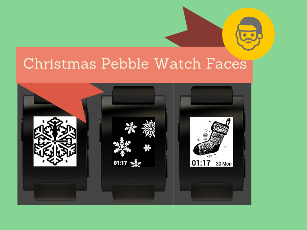 Get your Christmas Pebble Watchface