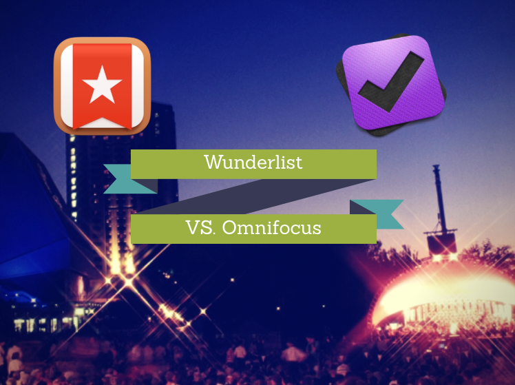 Wunderlist Vs. Omnifocus – How I struggle with the choice